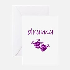 drama.bmp Greeting Cards