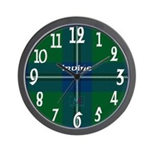 Irvine Clan Wall Clock