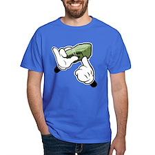 Fat Stacks Cartoon Hands T-Shirt