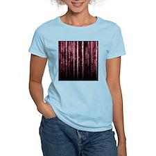 Digital Rain - Red T-Shirt