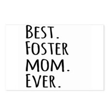 Best Foster Mom Ever Postcards (Package of 8)