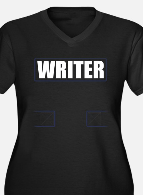 Writer Vest Plus Size T-Shirt