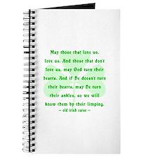 Irish Curse or Toast Journal
