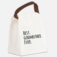 Best Godmother Ever Canvas Lunch Bag