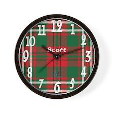 Scott Clan Wall Clock