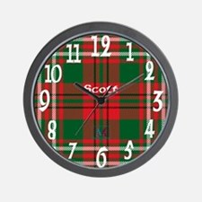 Scott Clan Wall Clock