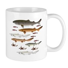 Deep Sea Sharks School 2 c Mugs