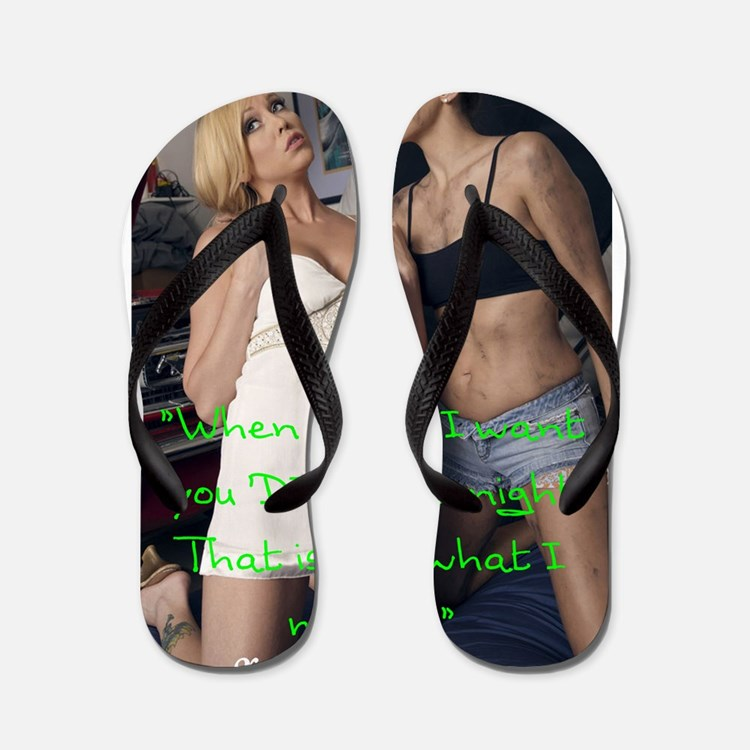 Dirty Girl Flip Flops