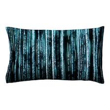 Digital Rain - Blue Pillow Case