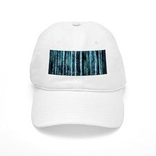Digital Rain - Blue Baseball Cap
