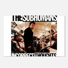 The SubHumans - Incorrect Thoughts Postcards (Pack
