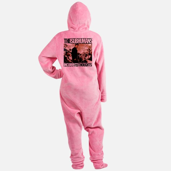 The SubHumans - Incorrect Thoughts Footed Pajamas