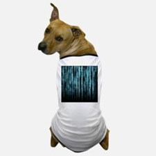 Digital Rain - Blue Dog T-Shirt