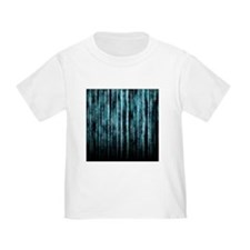 Digital Rain - Blue T