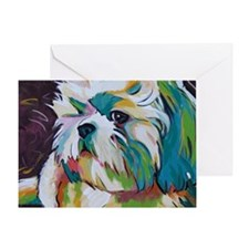 Shih Tzu - Grady Greeting Card