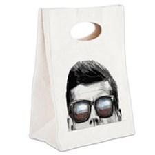 Remember... JFK Canvas Lunch Tote