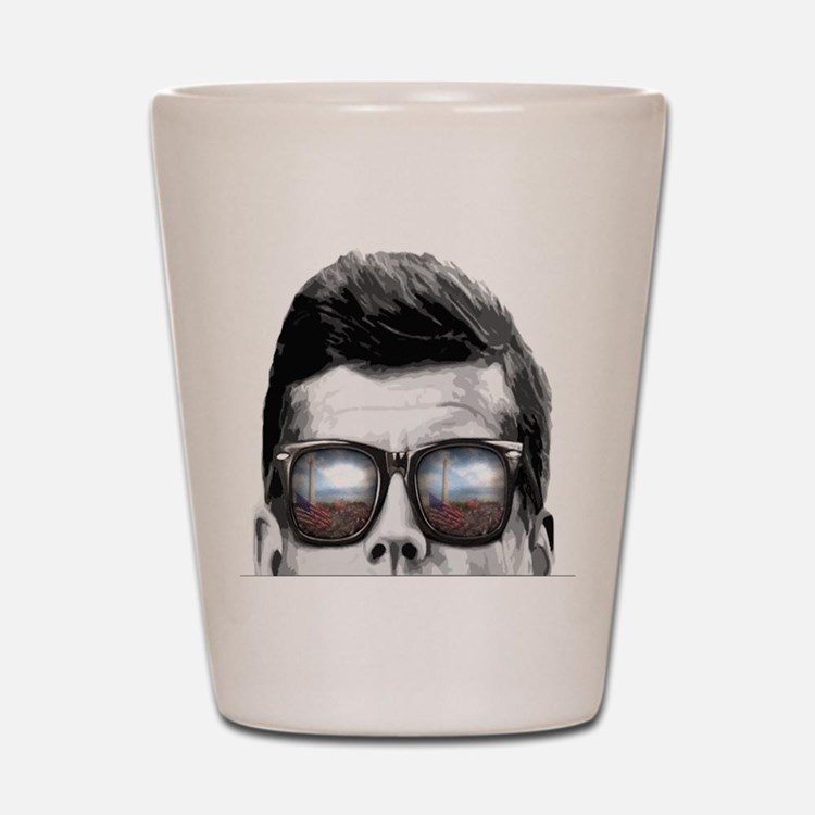 Remember... JFK Shot Glass