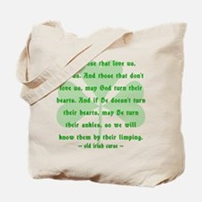 Irish Curse or Toast Tote Bag