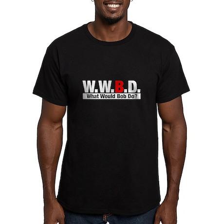 WWBD What Would Bob Do? Black T-Shirt