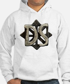 ds seal button Hoodie
