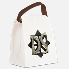 ds seal button Canvas Lunch Bag