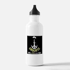 Crucifix Live at CD Studios Water Bottle
