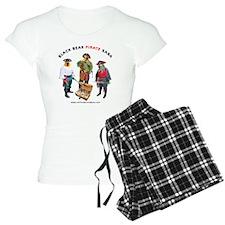 BLACK_nBEAK_WHITE_TSHIRT Pajamas