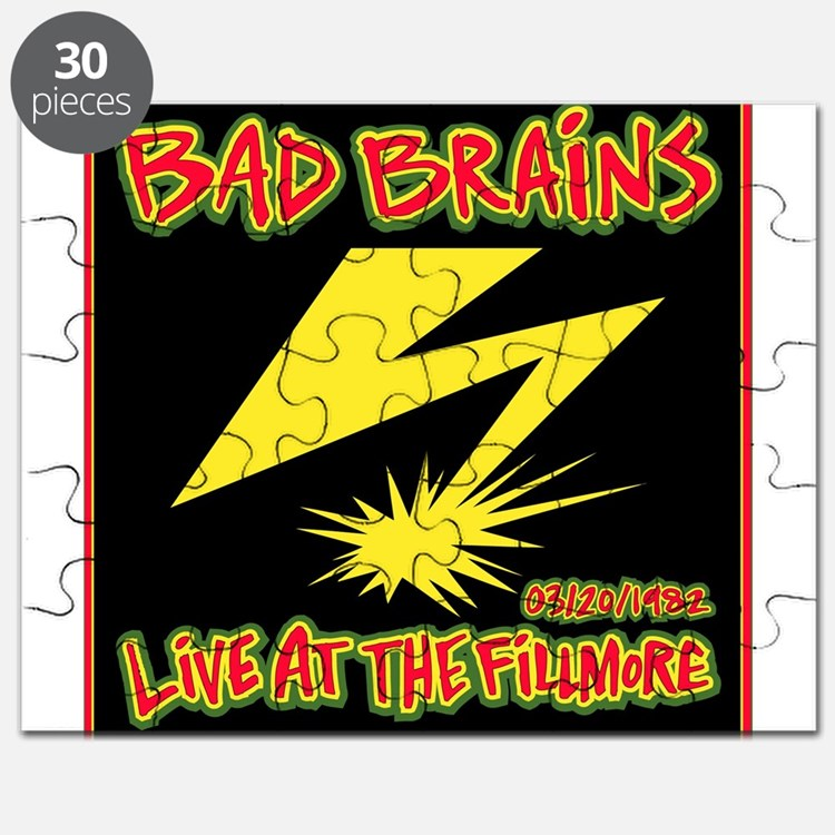 Bad Brains Live at the Fillmore 1982 Puzzle