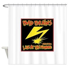 Bad Brains Live at the Fillmore 1982 Shower Curtai