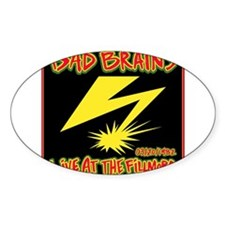 Bad Brains Live at the Fillmore 1982 Decal