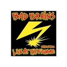 Bad Brains Live at the Fillmore 1982 Sticker