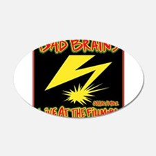Bad Brains Live at the Fillmore 1982 Wall Decal