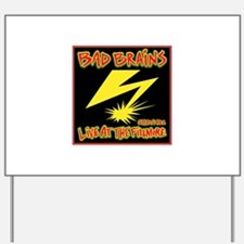 Bad Brains Live at the Fillmore 1982 Yard Sign
