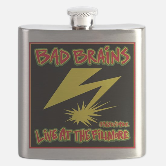 Bad Brains Live at the Fillmore 1982 Flask