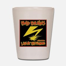 Bad Brains Live at the Fillmore 1982 Shot Glass