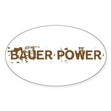 Bauer Power Oval Decal