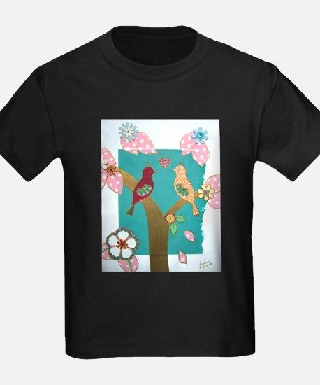 Lovebirds signed artwork T-Shirt