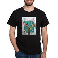 Lovebirds signed artwork T-Shirt