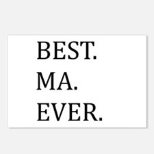 Best Ma Ever Postcards (Package of 8)