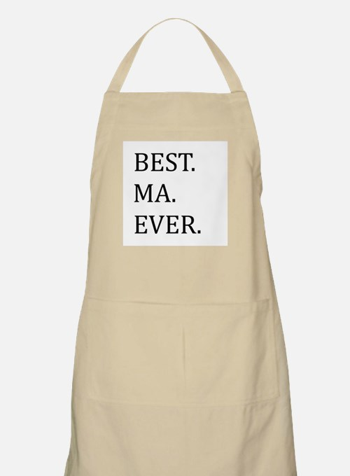 Best Ma Ever Apron