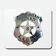 Los Angeles Union Station Guard Mousepad