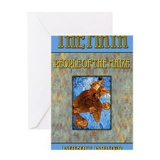 The Maya People of the Maize Greeting Card
