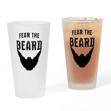 Fear the Beard Drinking Glass