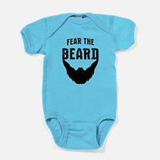 Fear the Beard Baby Bodysuit