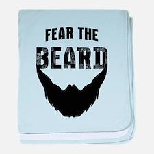Fear the Beard baby blanket