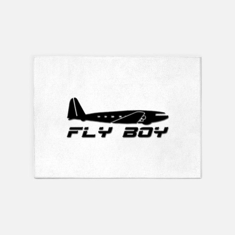 Fly Boy 5'x7'Area Rug