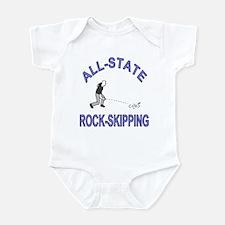 All-State Rock Skipping Infant Bodysuit