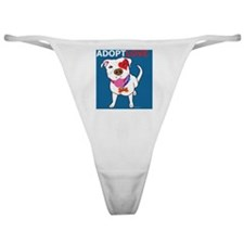 Adopt Love Classic Thong