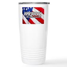 American (Made With Some Foreig Travel Mug