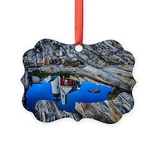 Framed in Rock! Ornament